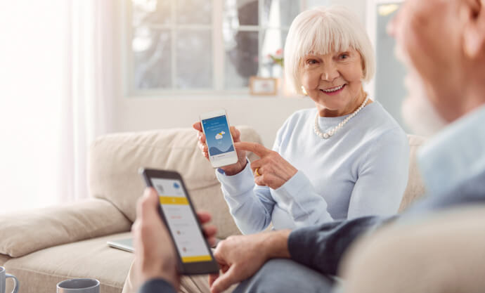 Seniorentelefon Seniorenhandy